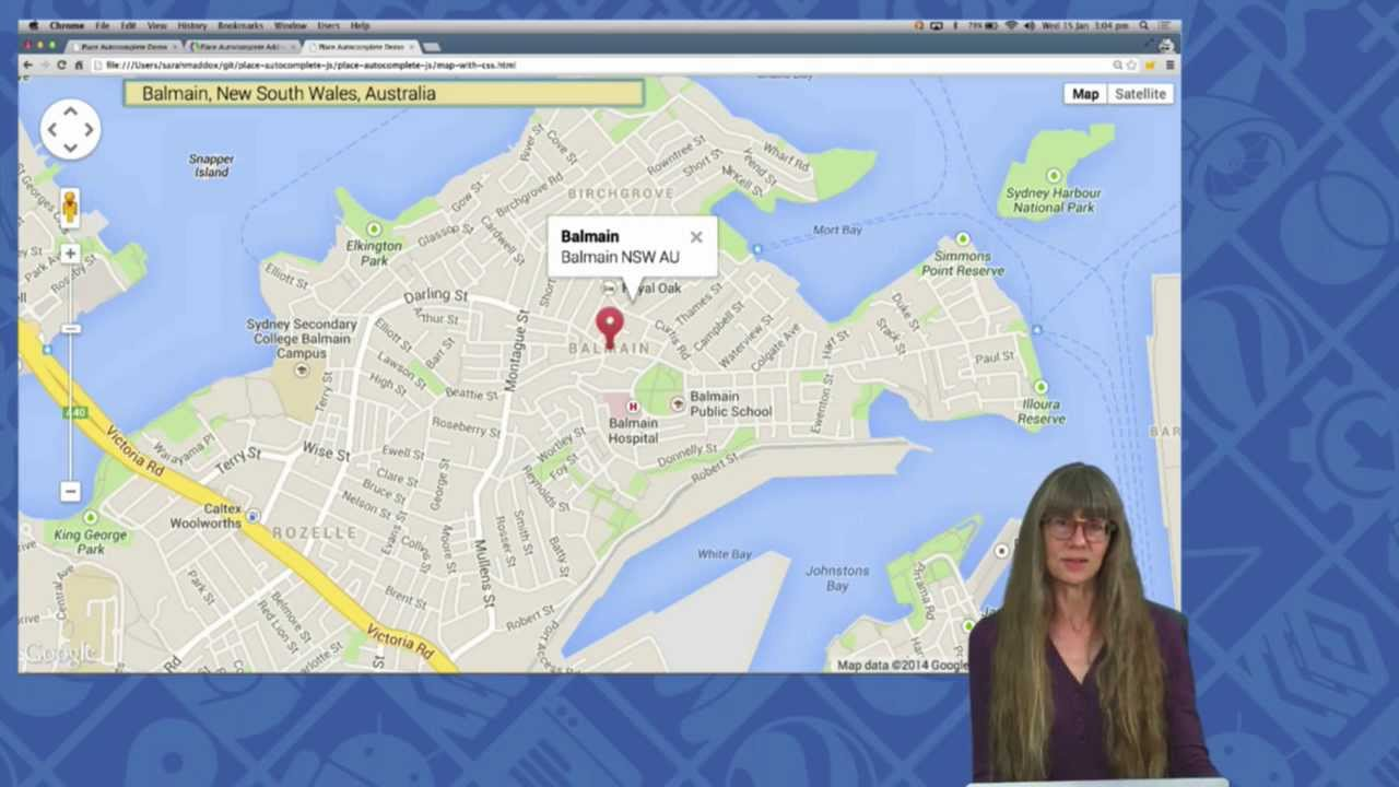 Maps Live Place Autocomplete In The Google Maps