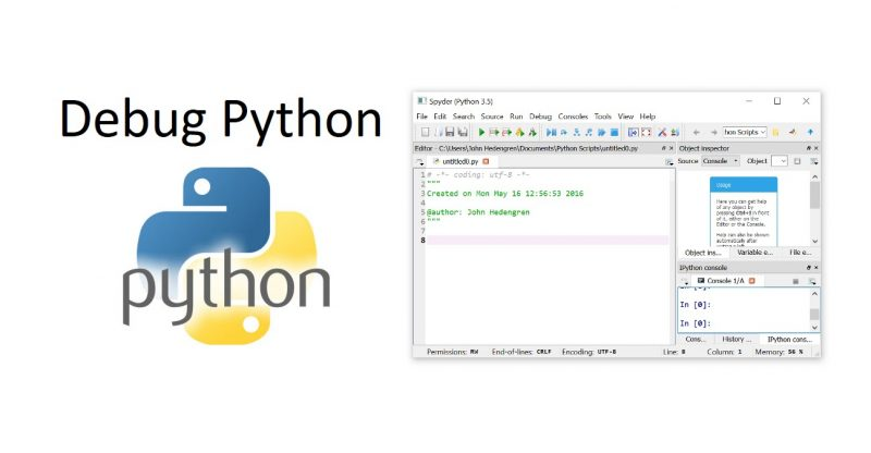 Debugging Python With Ipdb And Sypder Build A Site Info