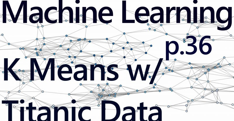 K Means with Titanic Dataset – Practical Machine Learning