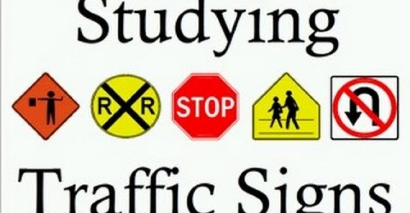 Learn Traffic Signs Symbols Studying Teach Free Rules Of The Road