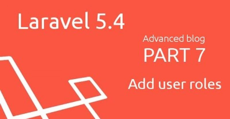 How to build a advanced blog in Laravel 5.4 (part 7 – Add