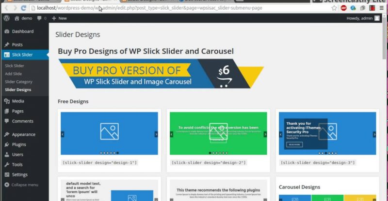 WP Slick Slider and Image Carousel – WordPress Plugin