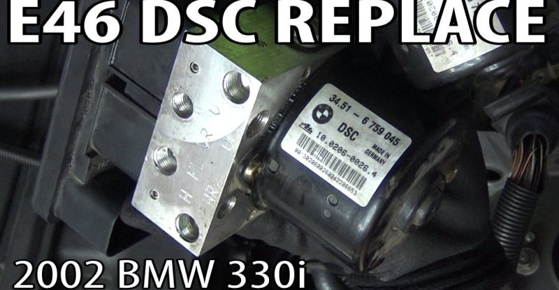 BMW E46 DSC (Dynamic Stability Control) Unit Replacement & Coding